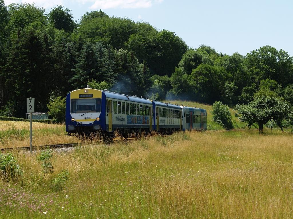 VT 412, VT 413 und VT 416 bei Schwieberdingen, 22. Juni 2012  Foto: Jiří 7256 – 1024×768