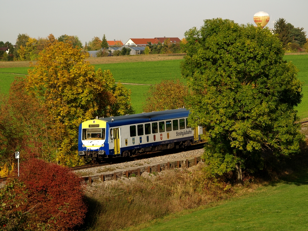 VT 412 bei Heimerdingen, 19. Oktober 2012 Foto: Jiří 7256 – 1024×768