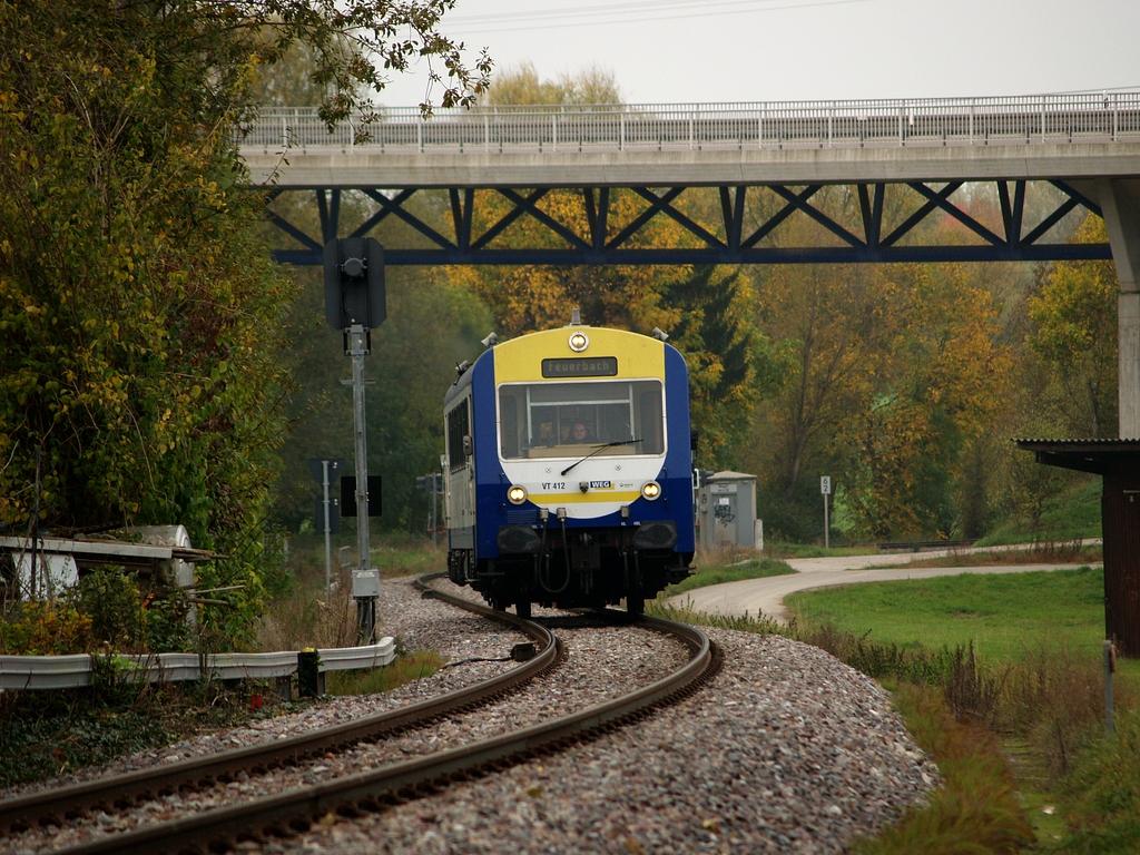 VT 412 bei Münchingen, 26. Oktober 2012 Foto: Jiří 7256 – 1024×768