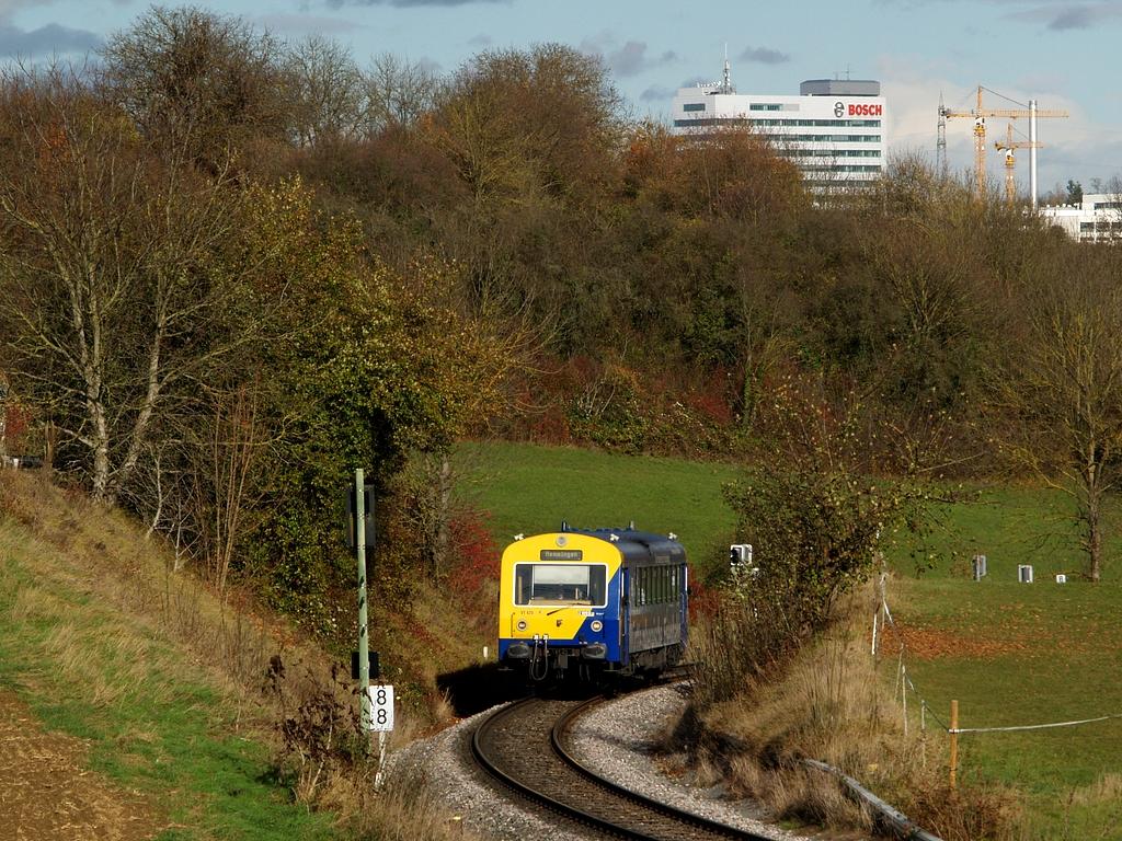 VT 420 bei Schwieberdingen, 2. November 2012 Foto: Jiří 7256 – 1024×768