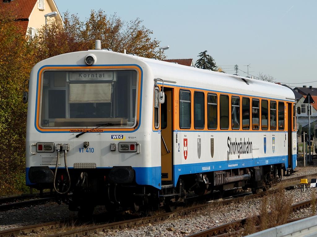 VT 410 in Hemmingen, 9. November 2012 Foto: Jiří 7256 – 1024×768