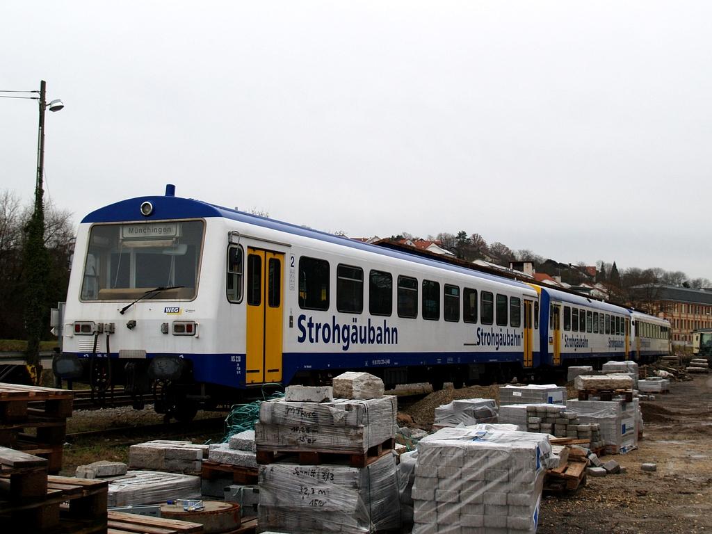 VS 220, VT 411 und VS 250 in Weissach