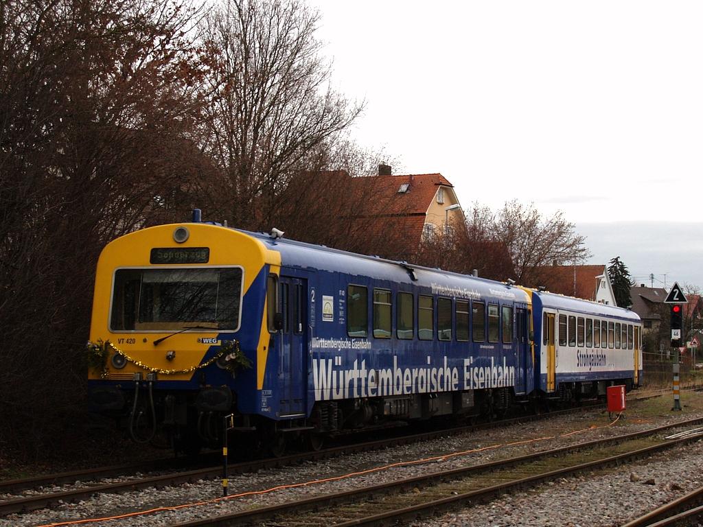 VT 420 und VS 201 in Hemmingen