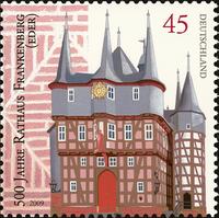 Briefmarke Frankenberg