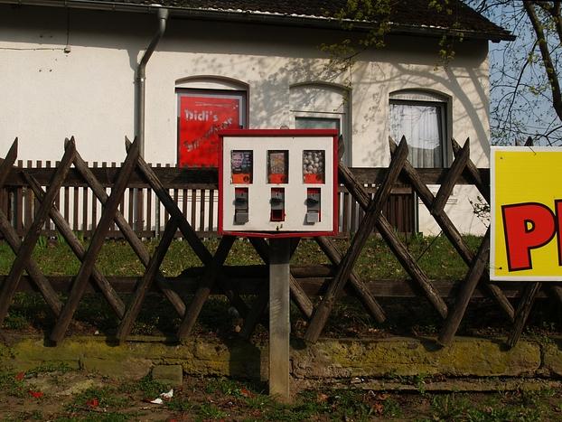 Kaugummiautomat, Halberstadt